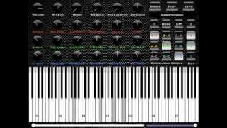 xMod poly FM synth/MIDI player - Classical music selections