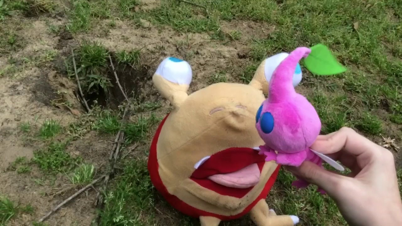 Pikmin Plush Winged Pikmin Youtube