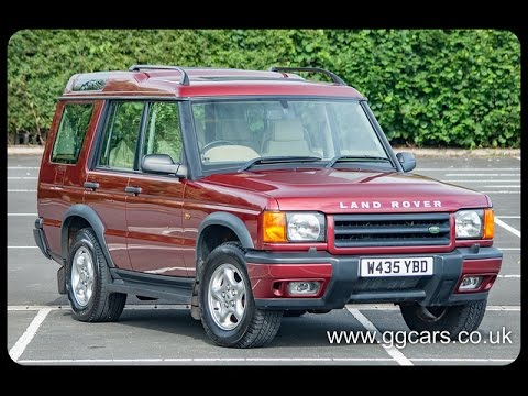 2000 W LAND ROVER DISCOVERY 2 5 Td5 ES 5 seat Auto - YouTube