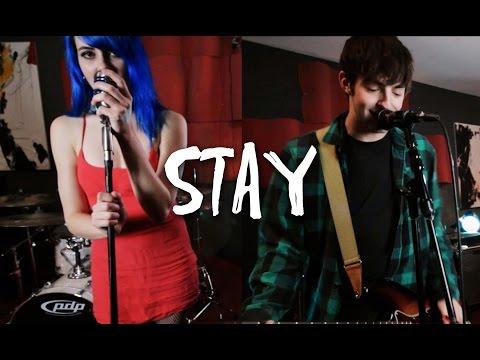 """Zedd, Alessia Cara """"Stay"""" PUNK ROCK COVER!! (Dave Days & Quote Unquote)"""