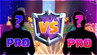 PRO VS PRO TOMMY  SURGICAL TS Y XPEDRO15! SORTEO Y ANUNCIOS!  😍 CLASH ROYALE 😎 Video