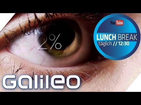Bodypuzzle Auge   Galileo Lunch Break   ProSieben