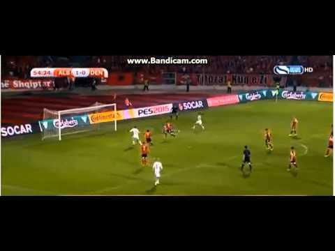 Shqipëri 1-1 Danimarkë