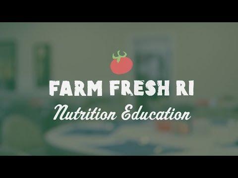 Farm Fresh RI: Nutrition Education