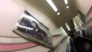 【札幌風景】ウインズ札幌 地下-1階エスカレーター