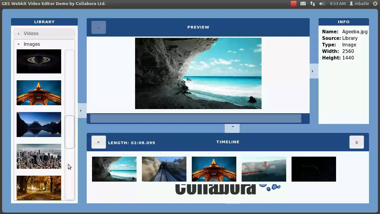 HTML5 video multimedia webkit webkit-gtk gstreamer GES