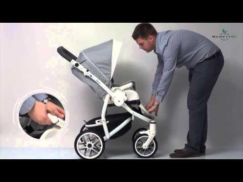 Детская универсальная коляска Bebetto Torino