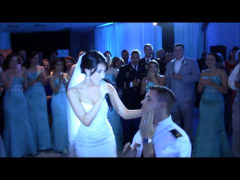 Newlywed Nurse Wife Sings Beautiful Song to Army Officer Husband and makes him cry!!!