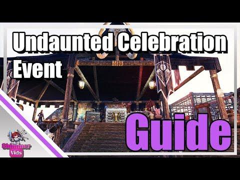 ESO: Undaunted Celebration Event Guide!