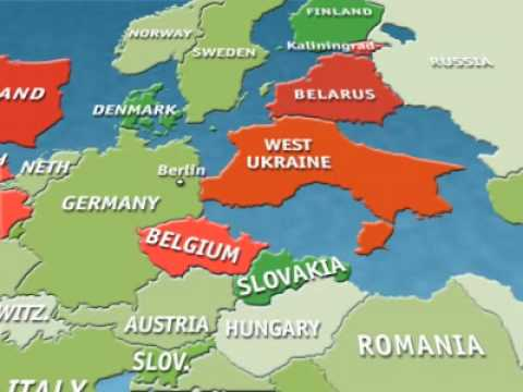 Videographic: Fantasy cartography. Redrawing the map of Europe | The Economist