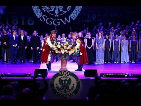 Gala Jubileuszowa 200 lat SGGW