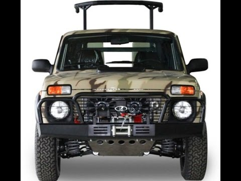 2016 Lada 4×4 Niva Pickup Limited edition for hunting (Нива пикап .