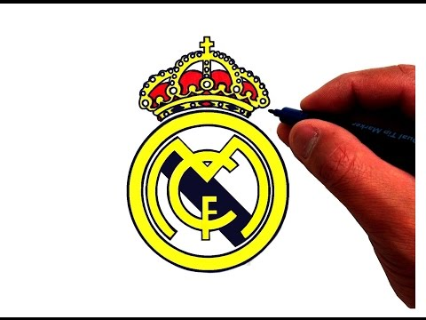 How to Draw the Real Madrid C.F. Logo