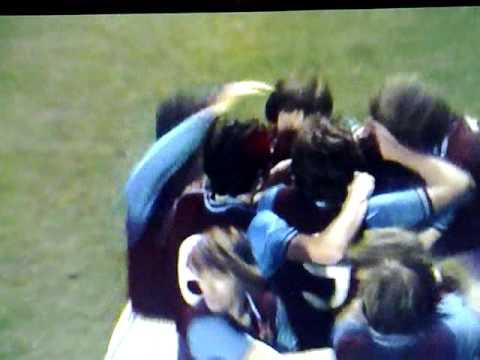 Brian Little Goal, Aston Villa vs Everton 1975 League Cup Final