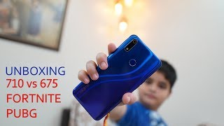 Realme 3 Pro unboxing and first impression, SD 710 vs SD 675, Fortnite, PUBG, VOOC - Rs. 13,999