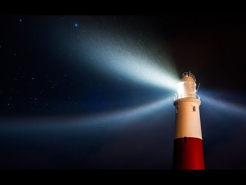 Midnight Lighthouse Relaxation 1 Hour Sleep Nature Video [Preview] 4k 1080p BluRay