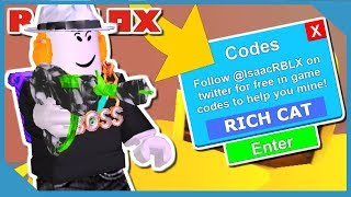 THIS CODE WILL MAKE YOU RICH IN ROBLOX MINING SIMULATOR
