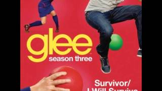 Glee - Survivor /I Will Survive (DOWNLOAD MP3 + LYRICS)