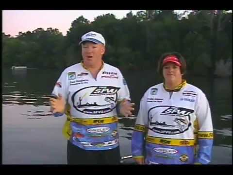 Sport Fishing Ventures Unlimited TV Host Ian Godwin / SFVU WBT Pro Marsha Gipson Fish Old Hickory