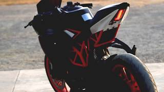 best modified ktm rc 200 390 in hindi in hd 1080p | customized ktm rc 200 390 | latest ktm modified