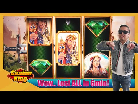 Lost ALL my money on Royal Swords Slots! [Day 14 - Slots Challenge 3]