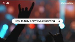 LG V50 ThinQ & Dual Screen: Life Hacks – Live Streaming