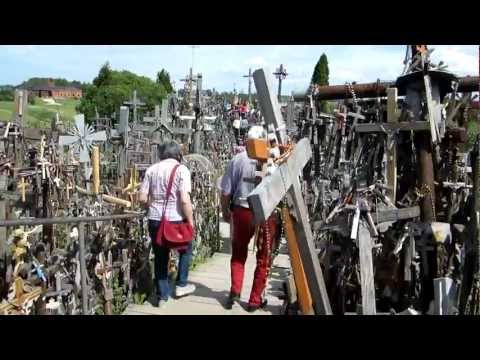 The Hill of Crosses in Siauliai, Lithuania