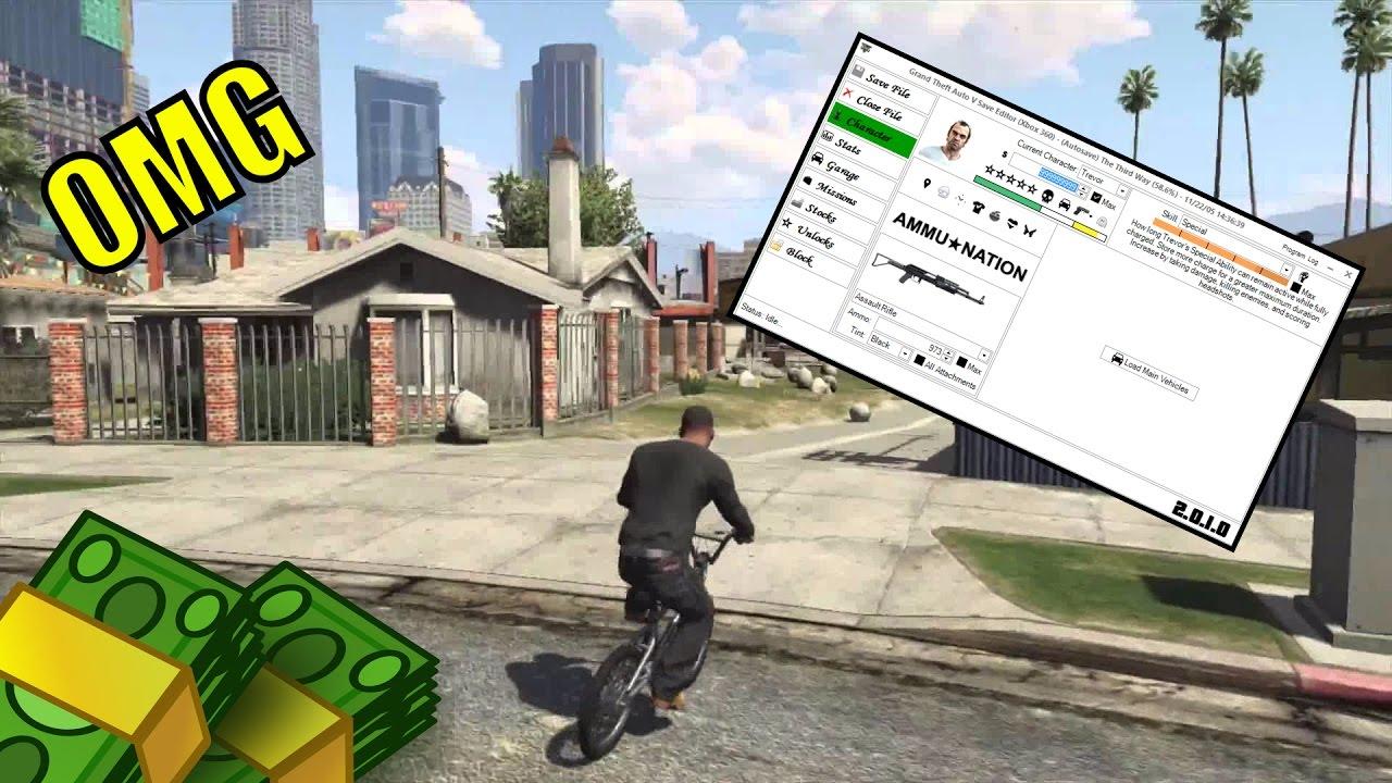grand theft auto 5 save editor ps3