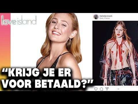 LOVE ISLAND MELODY  liep NAAKT een FASHION SHOW! | Juicy Details  - CONCENTRATE