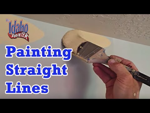 Cutting Ceilings Diy How To Paint A Straight Ceiling Line