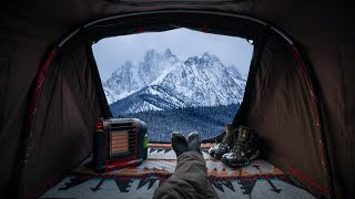 -12C Winter Camping iฑ Idaho - Living out of my JEEP