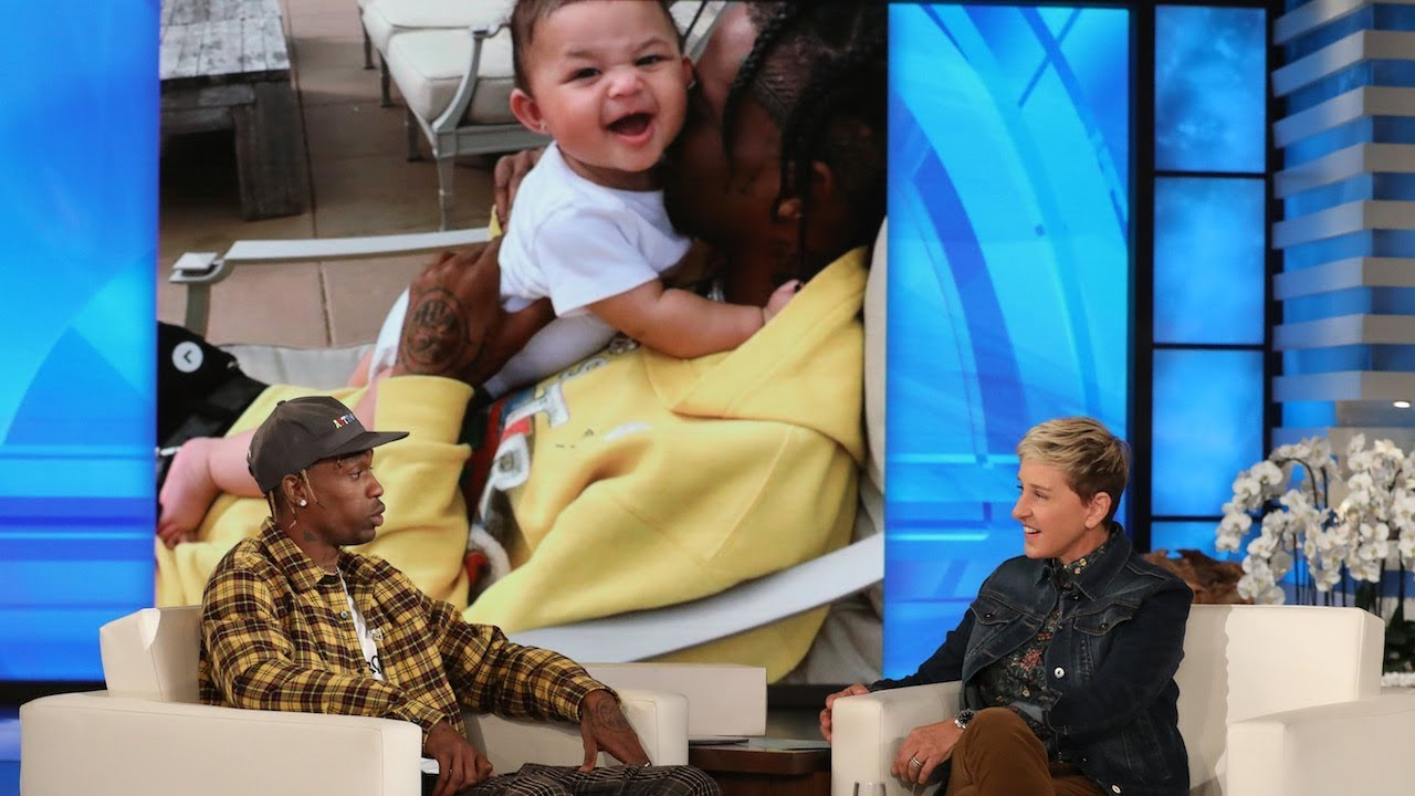 aaffe961a7ff Travis Scott Shares 'Crazy' Details About Kylie's Delivery - YouTube