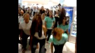 Estee Lauder Flash Mob Houston at Macy's Galleria Thumbnail