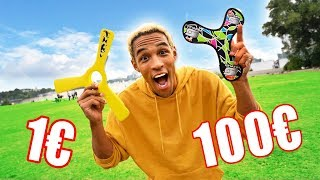 1€ vs 100€ Boomerang ☆ Was ist besser?
