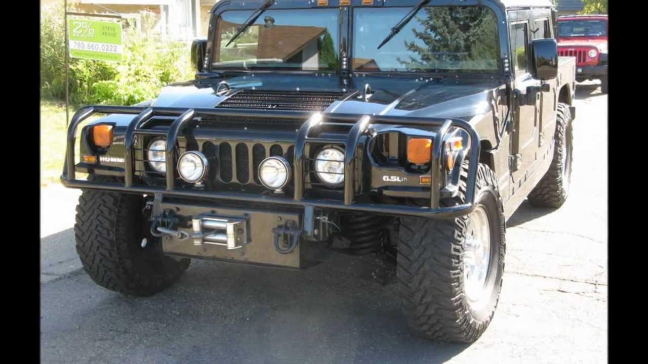 1999 Hummer H1 4 Door Hardtop 6 5t Diesel Youtube