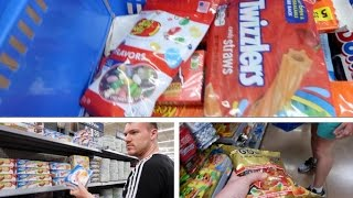 Shopping At Walmart Orlando For American Candy