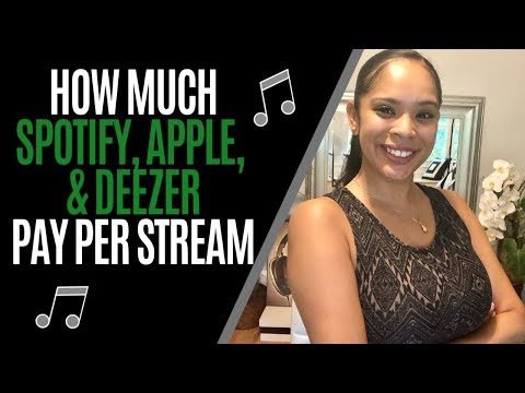 SPOTIFY ROYALTIES   APPLE MUSIC ROYALTIES   WHAT TO KNOW ABOUT MUSIC STREAMING RATES Mp3