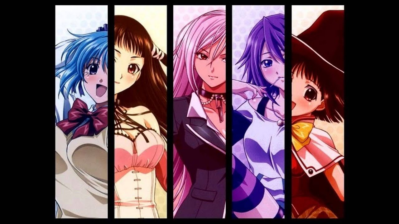 Fit Girls Wallpaper Rosario Vampire Discotheque Slowed Version Youtube