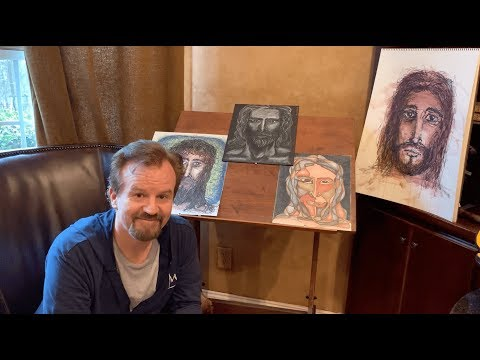 "The Story Behind The ""Only Jesus"" Drawings And Book With Mark Hall"