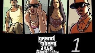GTA San Andreas прохождение серия 1 ( Назад на Гроув Стрит)