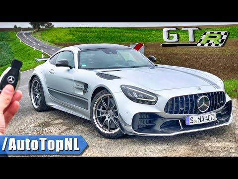 MERCEDES AMG GTR PRO REVIEW POV On ROAD & AUTOBAHN (NO SPEED LIMIT) By AutoTopNL