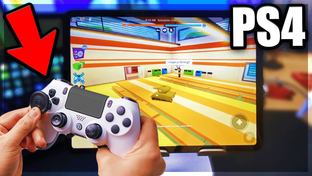 Use Ps4 Controller On Windows 10 For Roblox Playing Roblox Jailbreak With A Ps4 Controller Roblox Mobile Youtube