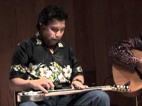 Sleepwalk SlackKeyShow Bobby Ingano Hawaiian Lap Steel Guitar Master