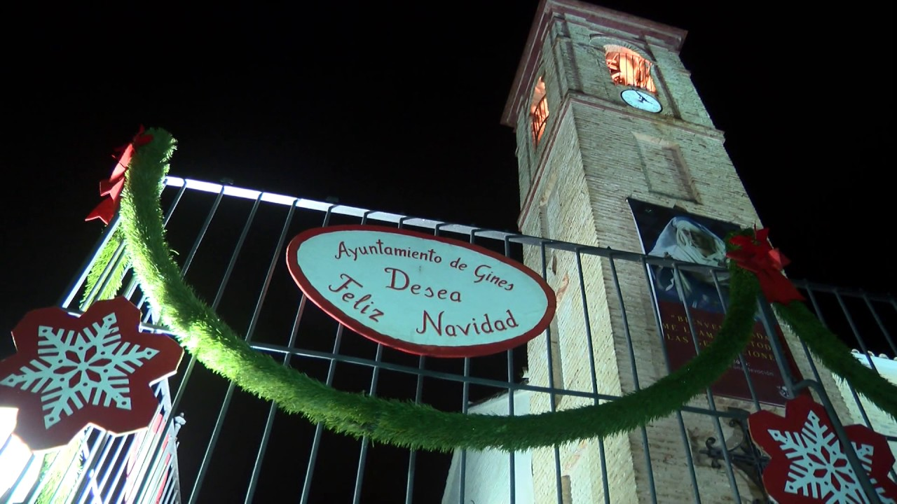 El Ayuntamiento de Gines les desea Feliz Navidad