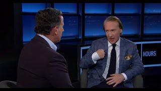 Bill Maher & Rick Santorum Debate Socialism
