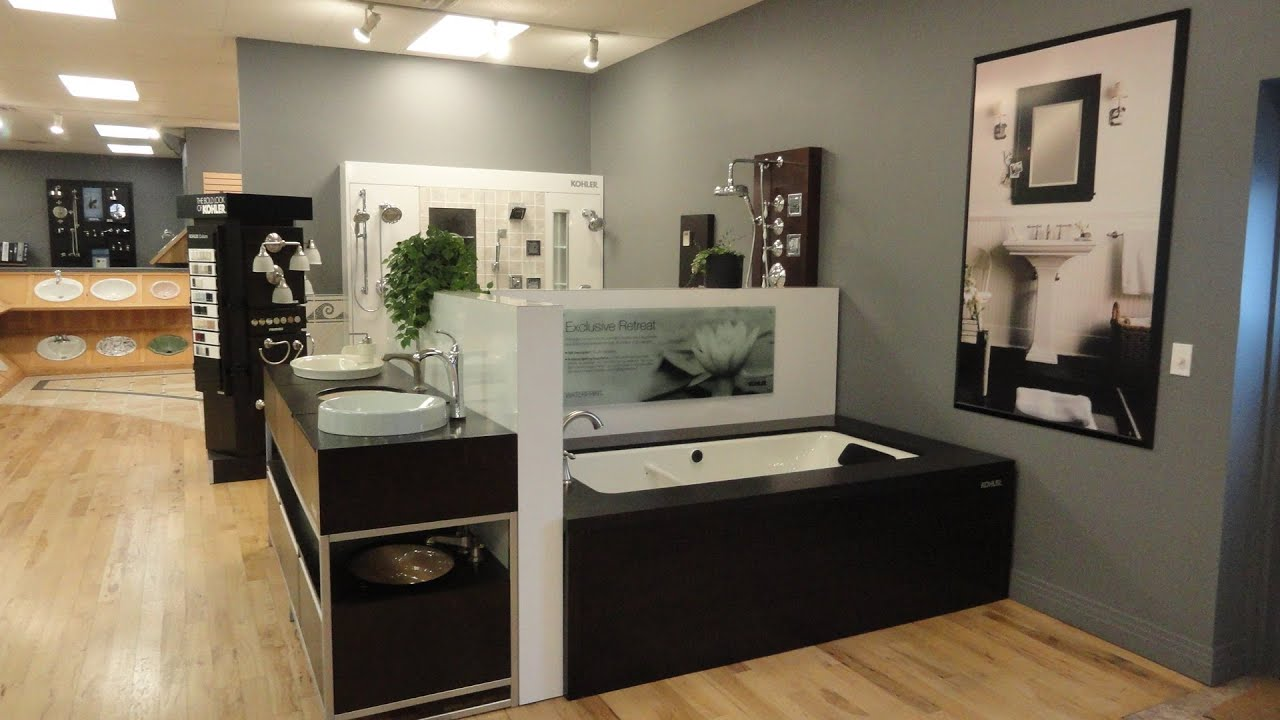 Kohler Denver Showroom of Solutions Bath & Kitchen Store - YouTube