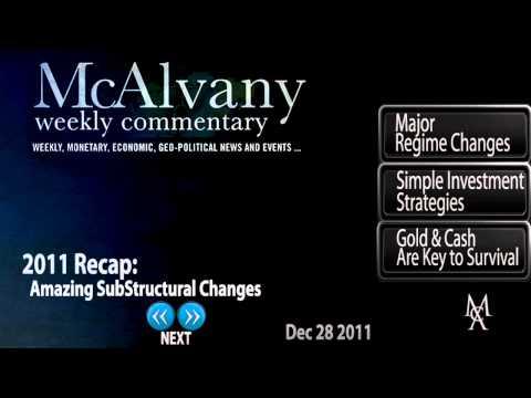2011 Recap: Amazing Sub Structural Changes