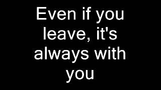Sergey Lazarev - Even If You Leave - English subtitles