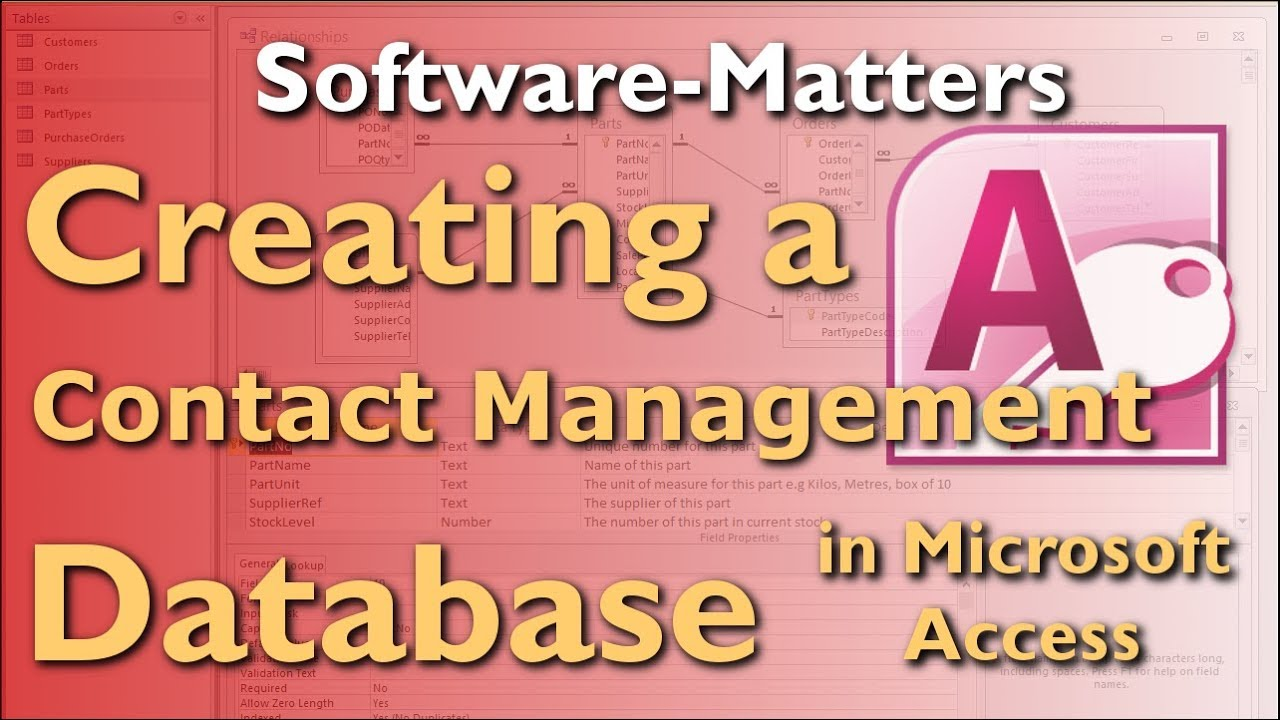 access database customer management
