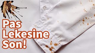 Kıyafetlerinizdeki Pas Lekelerine Son !